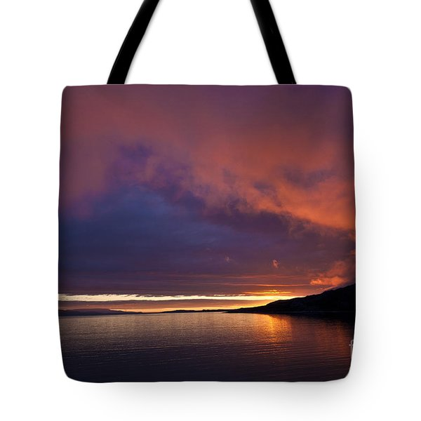 Purple Skies Tote Bag by Heiko Koehrer-Wagner