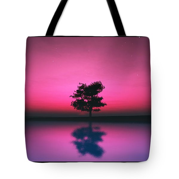 Purple Sky... Tote Bag by Tim Fillingim