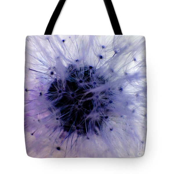 Purple Taraxacum Tote Bag by Tina M Wenger