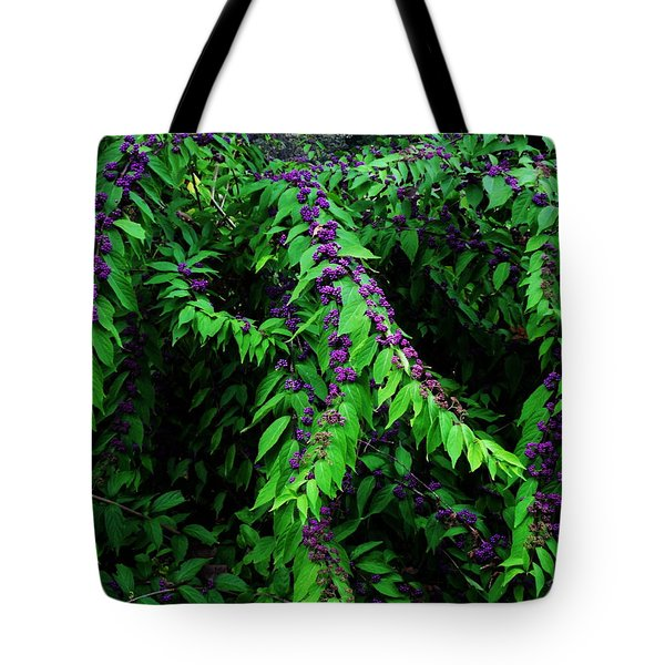Purple Vibe Tote Bag