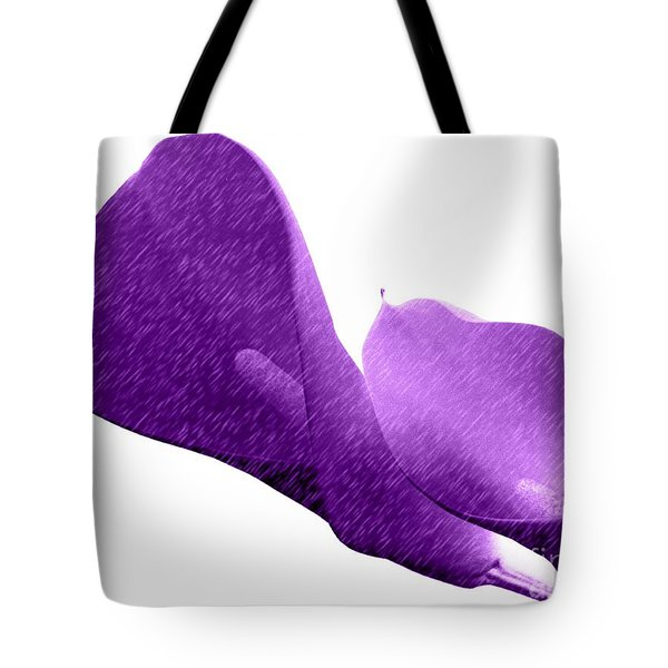Tote Bag featuring the photograph Purplish by Everette McMahan jr