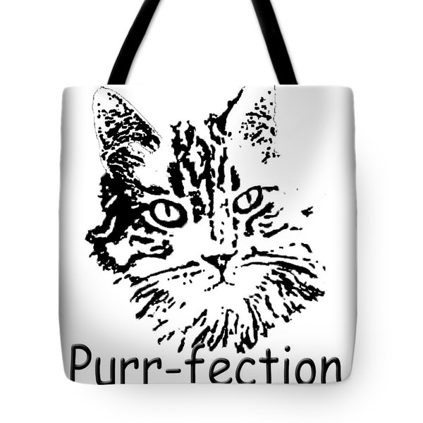Tote Bag featuring the photograph Purr-fection by Robyn Stacey