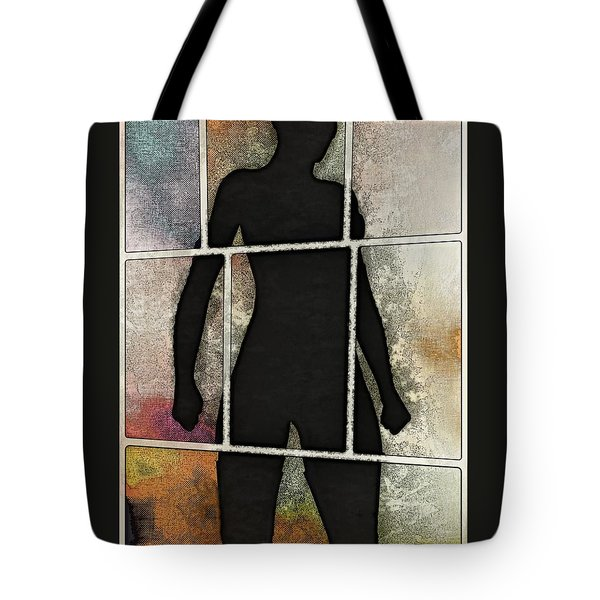 Purrfect Stand Tote Bag by Maynard Ellis