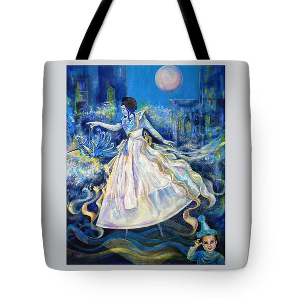 Pursuit Of Happiness Tote Bag by Anna  Duyunova