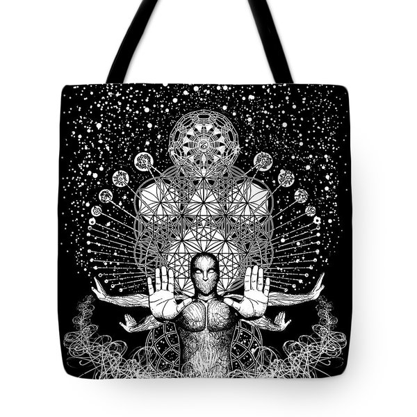 Push Away The Distractions  Tote Bag