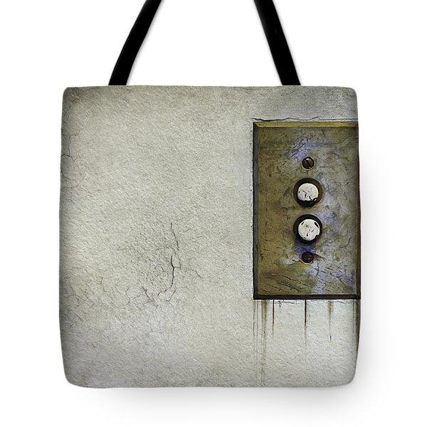 Push Button Tote Bag
