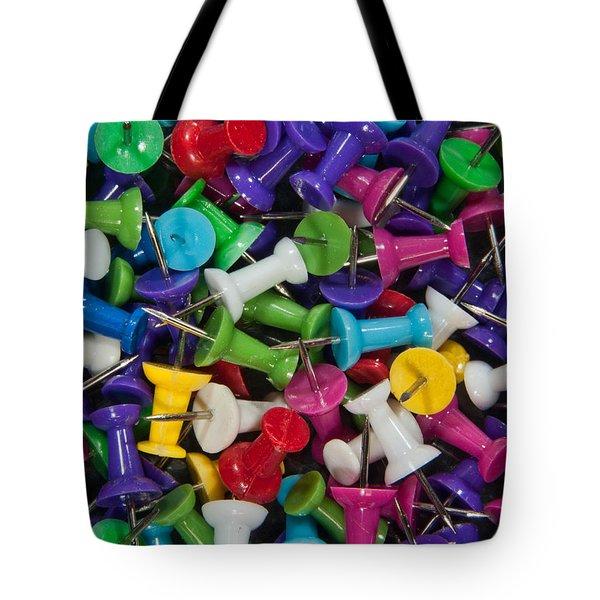 Push Pin Pillow  Tote Bag