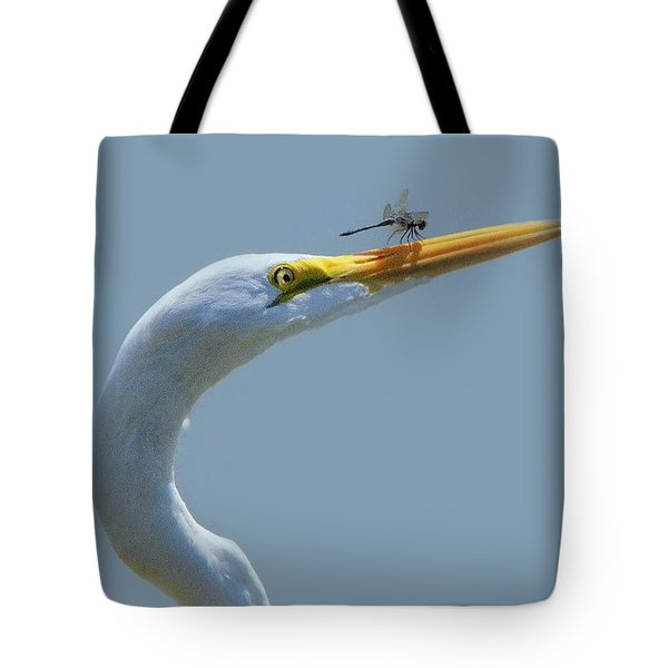 Pushing The Limits Tote Bag by Charlotte Schafer