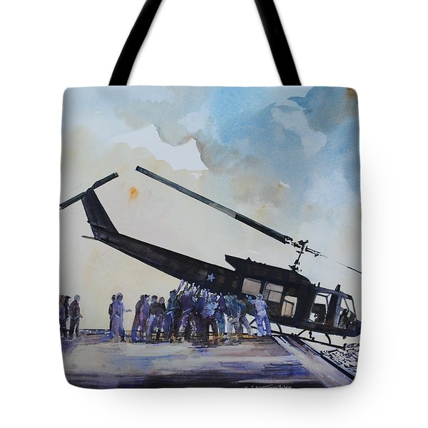 Pushover - South China Sea 1975 Tote Bag