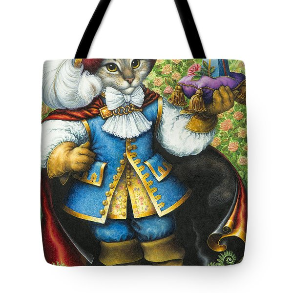 Puss-in-boots Tote Bag