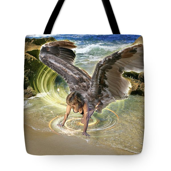 Put Your Trust In Him Tote Bag
