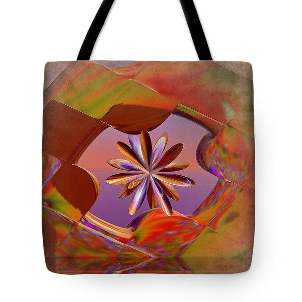 Puzzle Of Life Tote Bag by Deborah Benoit