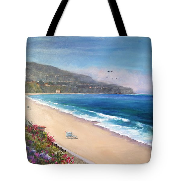 Tote Bag featuring the painting P.v. View by Jennifer Beaudet