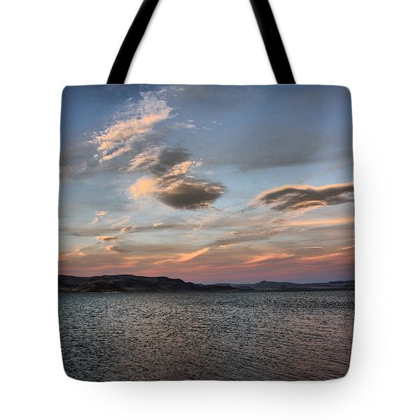 Pyramid Lake Tote Bag