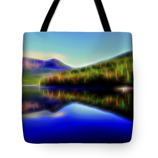 Pyramid Mirror 1 Tote Bag by William Horden