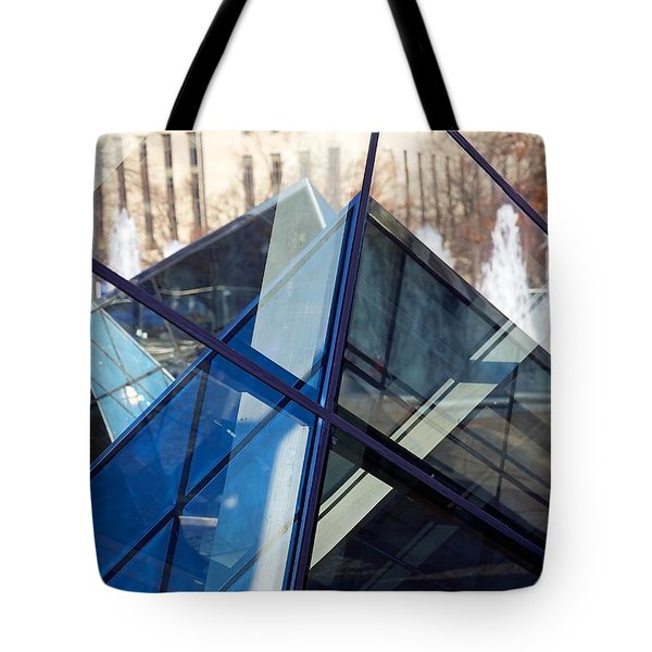 Pyramid Skylights Tote Bag