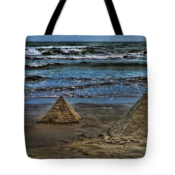 Pyramids Tote Bag by Jeff Breiman