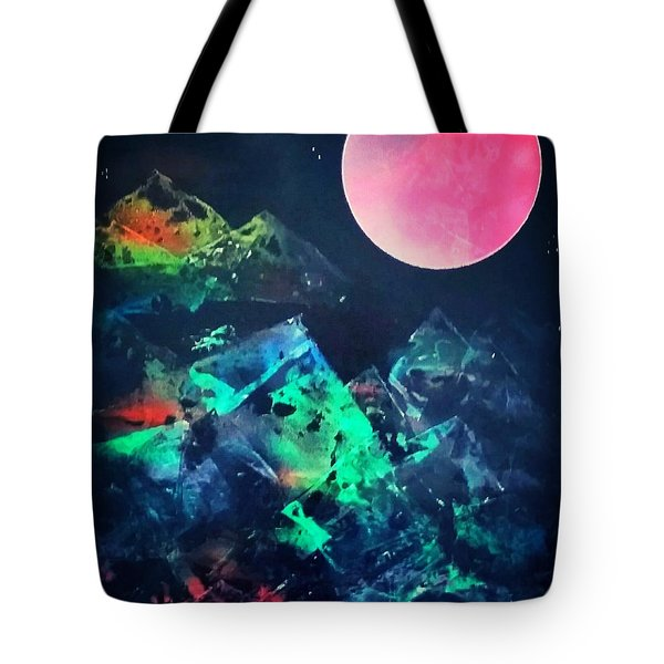Pyramids Of The Universe  Tote Bag