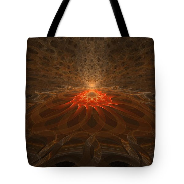 Pyre Tote Bag by GJ Blackman