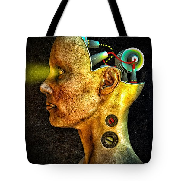 Pythia Tote Bag by Bob Orsillo