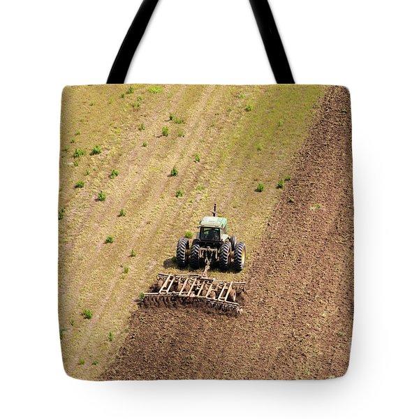Quad Tractor Tote Bag by John Ferrante