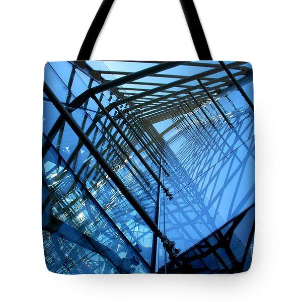 Quadrajunction Tote Bag