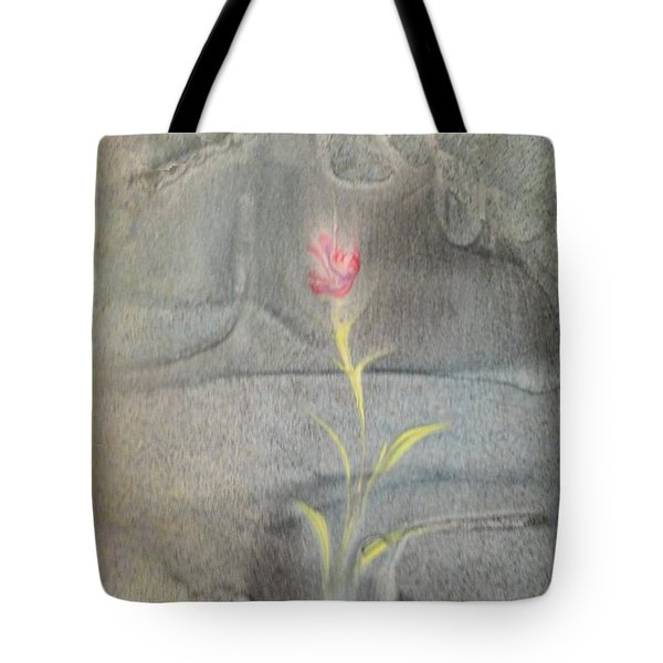 Tote Bag featuring the painting Quake by Mike Breau
