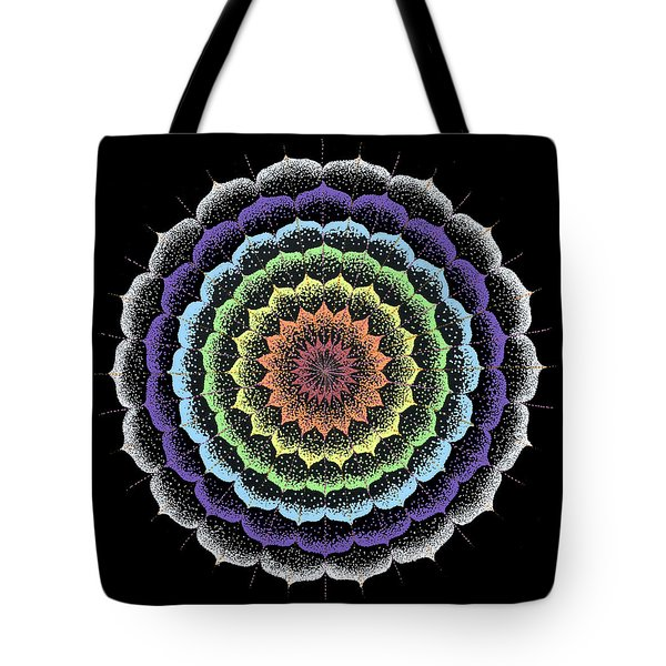 Tote Bag featuring the painting Quan Yin's Healing by Keiko Katsuta