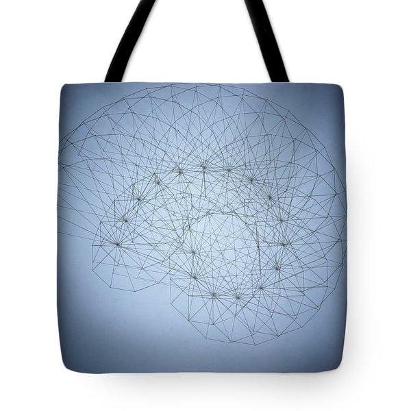 Quantum Nautilus Spotlight Tote Bag