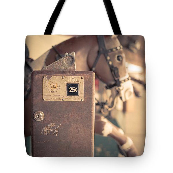 Quarter Horse Tote Bag by Edward Fielding