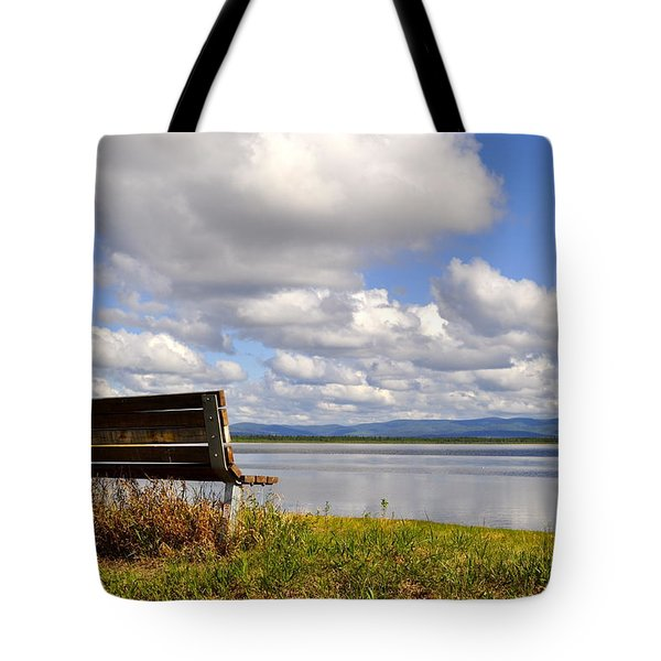 Tote Bag featuring the photograph Quartz Lake by Cathy Mahnke