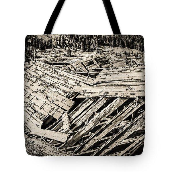 Quartz Mountain 29 Tote Bag by YoPedro
