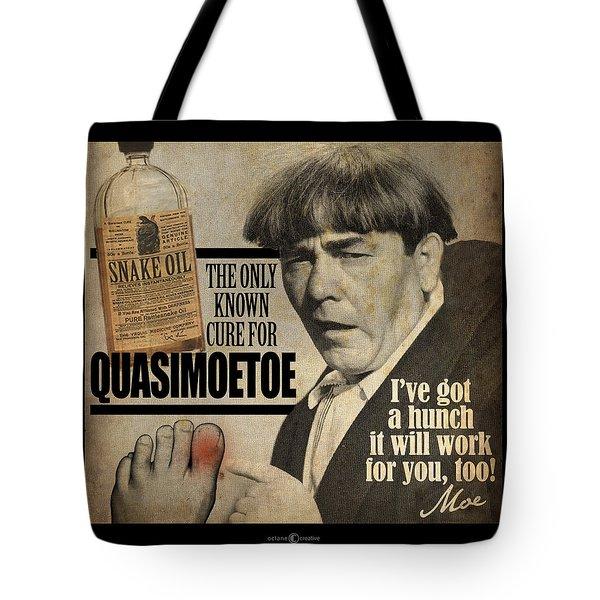 Quasimoetoe Poster Tote Bag
