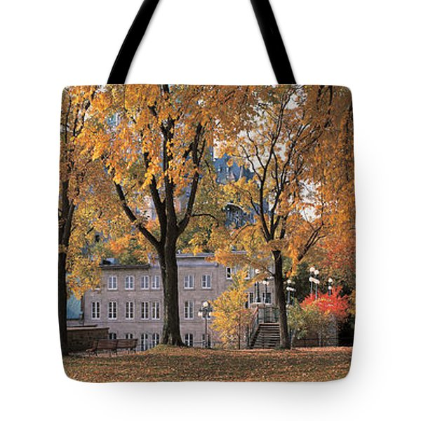Quebec City Quebec Canada Tote Bag