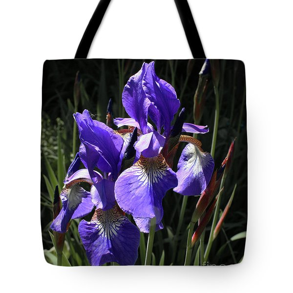 Quebec Provincial Flower Tote Bag
