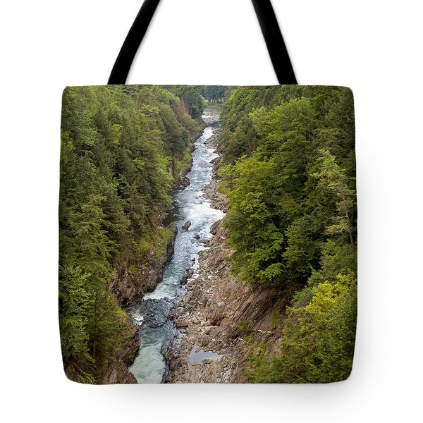 Quechee Gorge State Park Tote Bag
