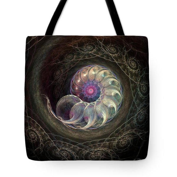 Queen Ammonite Tote Bag by Kim Redd