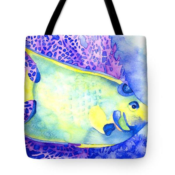 Queen Angelfish Tote Bag