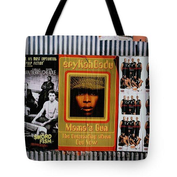 Queen Badu Tote Bag