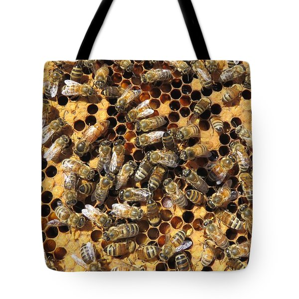 Queen Bee And Her Attendants Tote Bag