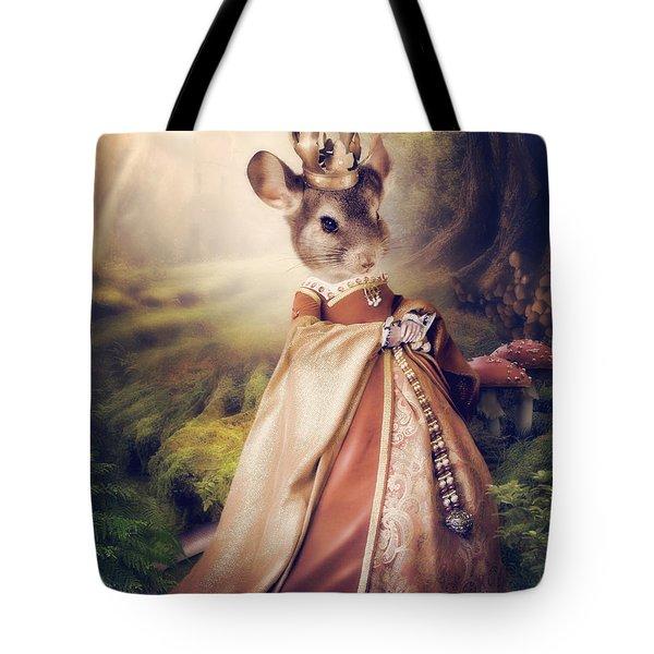 Queen Tote Bag by Cindy Grundsten