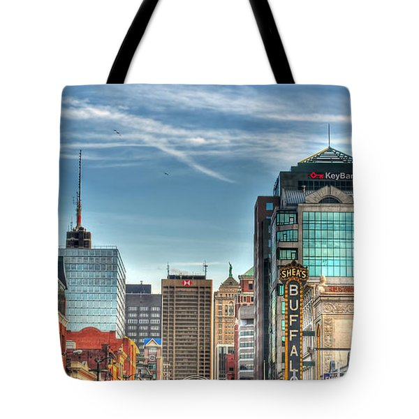 Queen City Downtown Tote Bag
