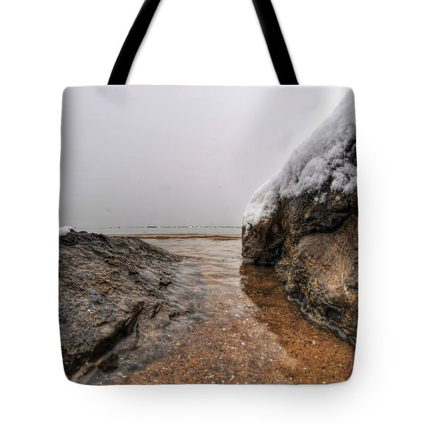 Queen City Winter Wonderland After The Storm Series 0041 Tote Bag by Michael Frank Jr