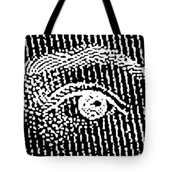 Queen Elizabeth's Eyes Tote Bag