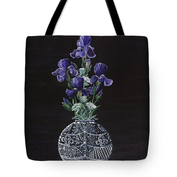 Queen Iris's Lace Tote Bag