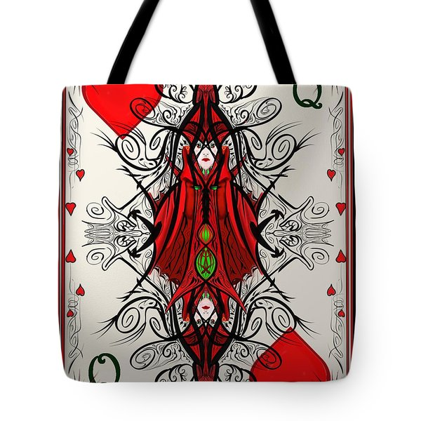 Queen Of Arts Tote Bag