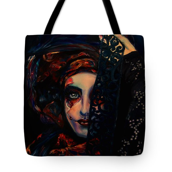 Queen Of Darkness Tote Bag
