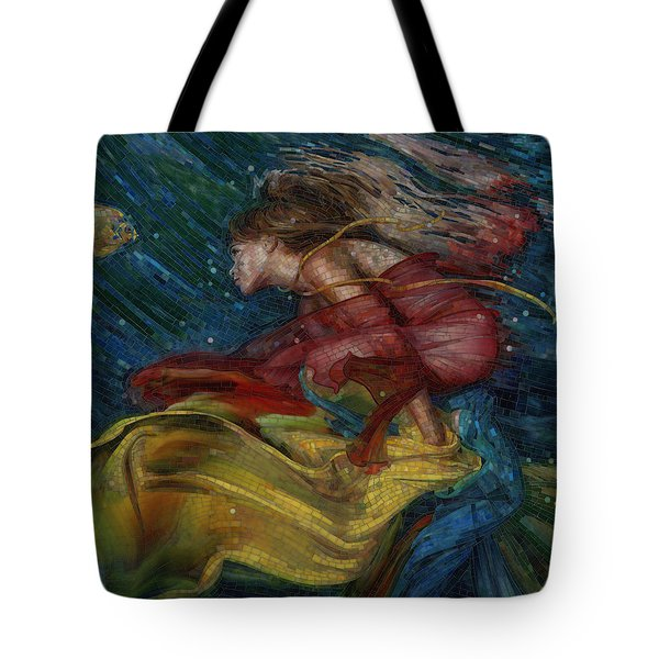 Queen Of The Angels Tote Bag