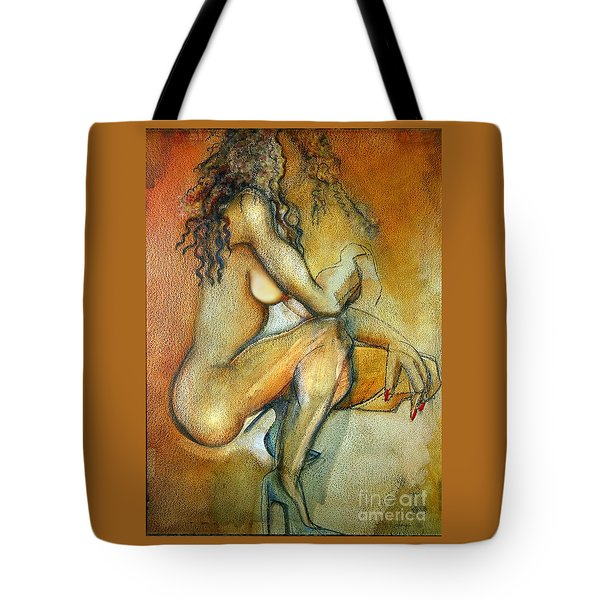 Queen Talulah Tote Bag by Carolyn Weltman