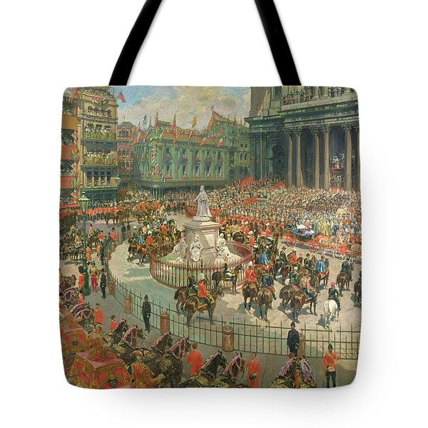Queen Victorias Diamond Jubilee, 1897 Tote Bag by G.S. Amato